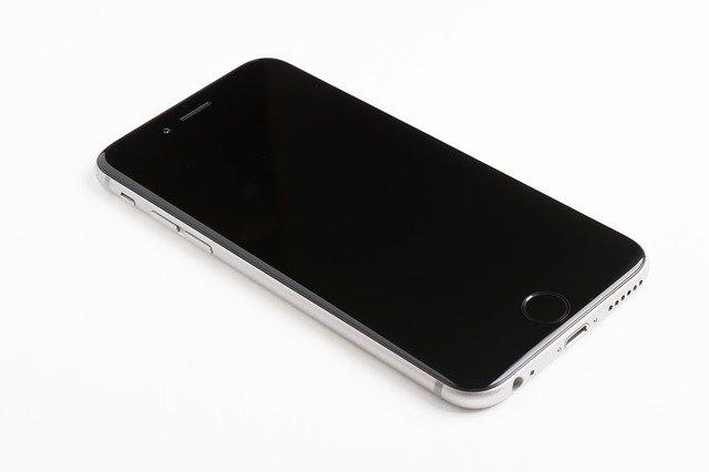 min iphone er gået i sort